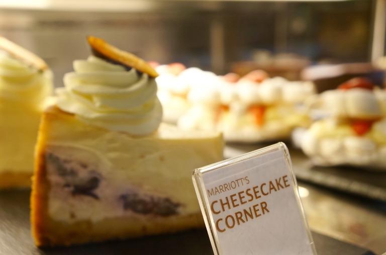 und zum Cheesecake Corner