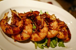 immer gut: Shrimps