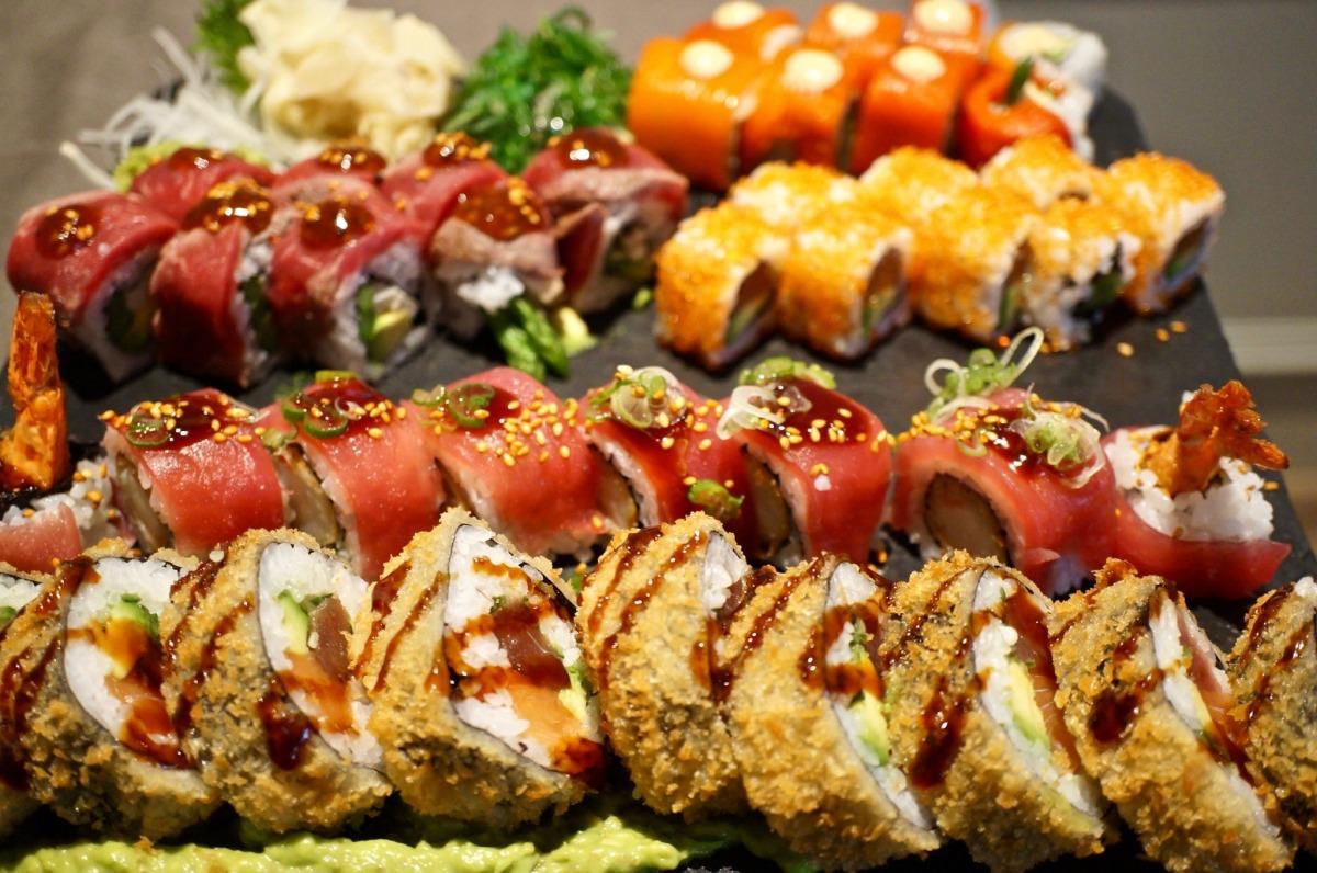 Sushi im Hotel Goldene Traube Coburg