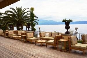 Die luxuriöse Terrasse