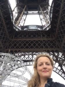 am Eiffelturm