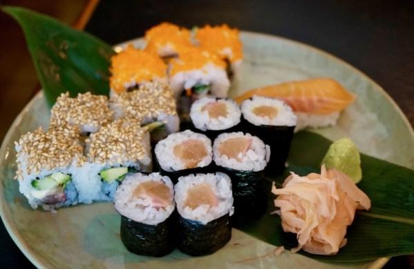 das Sushi vom Chef