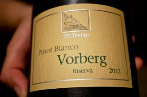 Pinot Bianco Vorberg Riserva 2012