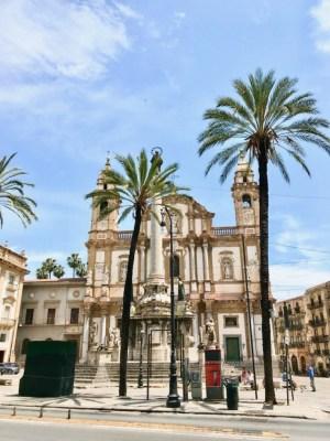 Unser Wohnort: Piazza San Domenico