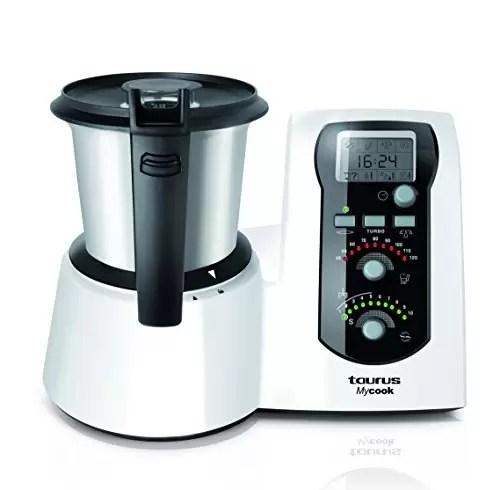 Robot cocina taurus taurus master cuisine robot de cocina color plateado de robots online - Robot de cocina taurus master cuisine ...