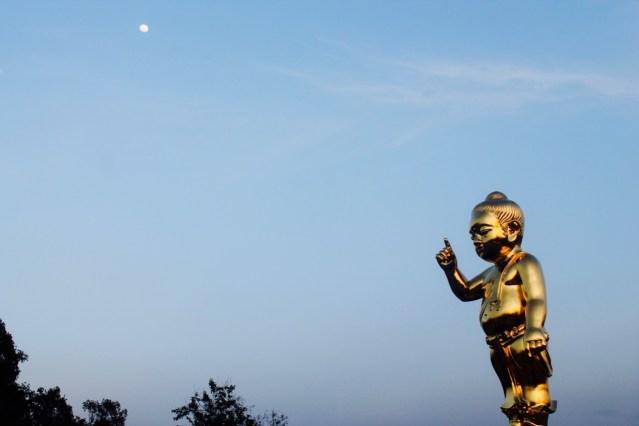 Buddha als lehrendes Kind