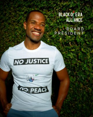 As many know, I am one of the co-founders of the Black Opera Alliance (BOA). I am deeply proud of how this organization has so rapidly emerged as one of the key change agents in the field -- with a strategic combination of radical community-building and watchdog advocacy.    With that said, my third major announcement is that I will be stepping down from the Leadership Council of BOA. As I ascend into senior leadership at two companies, it is important that BOA has the space to hold even those organizations with which I am affiliated accountable for substantive racial equity work.    I will remain involved as the Project Director for BOA's work with TRG Arts and data collection/analysis through 2022. And while I will step away from the day-to-day activities of the organization, I am also happy to announce that I will take on the role of President of the Board of Directors for BOA. With our cue from OPERA America's governance structure, I will work with colleagues to cultivate a board composed of industry leaders who can help amplify and further strengthen the work of BOA.    The mission of the Black Opera Alliance is to empower Black classical artists and administrators by exposing systems of racial inequity and under-representation of the African diaspora in all facets of the industry and challenging institutions to implement drastic reform. If you are interested in learning more about how you can get involved, DM me and let's get you connected.   Photo credit: @carellaugustus_ Follow: @blackoperaalliance  #opera #operasinger #operasingersofinstagram #bassbaritone #artisticdirector #impact #blackvoices #blackoperasingers #boa #blackoperaalliance #blackartists #blackcreatives 