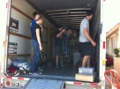 We were pleasantly surprised when a local church planter brought 3 others with him to add to the unloading team.