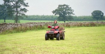 Louisa on quad bike 3