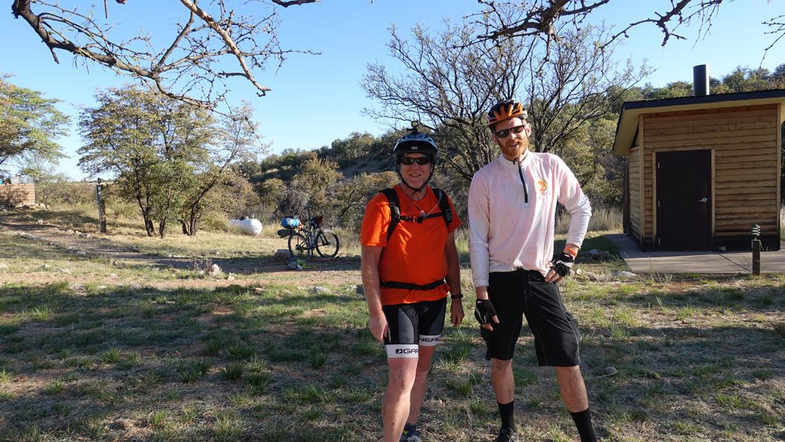 Derrick Perrin & Steven Barnard at Kentucky Camp
