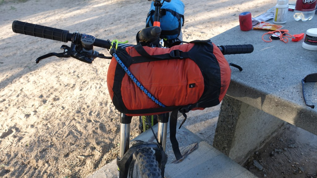 Sea to Summit Bicycle bar bag.