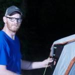 Derrick Perrin Tent Setup