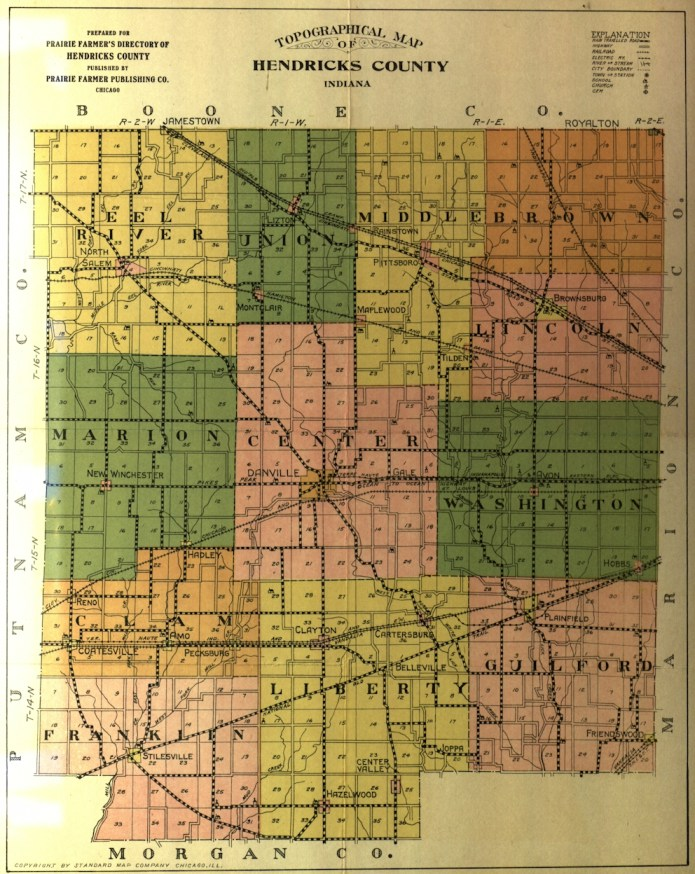 Hendricks County 1920