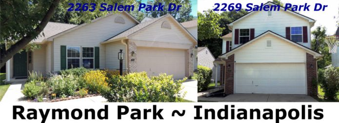 2 homes in Raymond Park