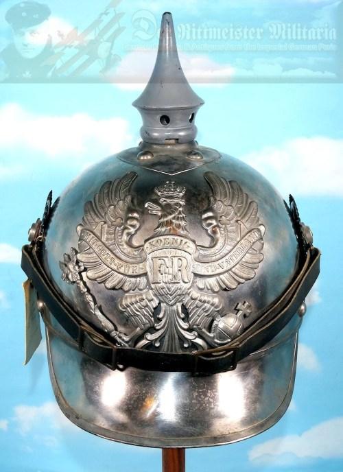 PRUSSIA - HELMET - M-1915 KÜRAßIER ENLISTED MAN - XIV. ARMEEKORPS PROTOTYPE