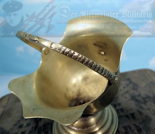 PRUSSIA - DESK PIECE  - MINIATURE PICKELHAUBE - Imperial German Military Antiques Sale