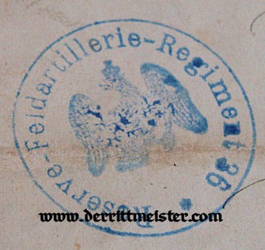 MECKLENBURG-SCHWERIN - MILITARY SERVICE CROSS 2nd CLASS DOCUMENT AND DECORATION - Imperial German Military Antiques Sale