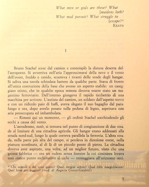 JACK D. HUNTER - BOOK - THE BLUE MAX (LA CADUTA DELLE AQUILE) - Imperial German Military Antiques Sale