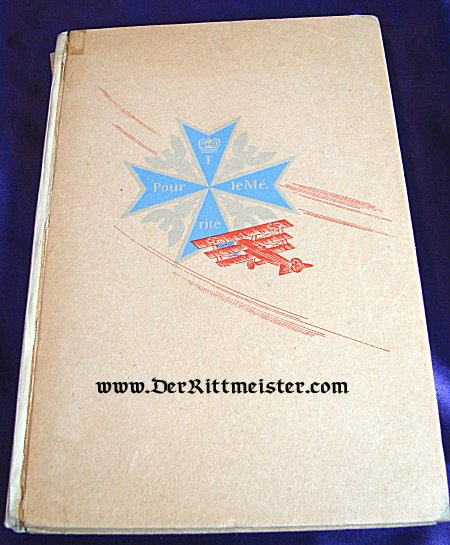 GERMANY - BOOK - ZWEI GENERATIONEN LUFTWAFFE 1. WEGBEREITER DER LUFTFAHRT FLIEGER DES WELTKRIEGES by ROLF ROEINICH - Imperial German Military Antiques Sale