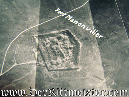 THREE LARGE-FORMAT PHOTOGRAPHS TAKEN FROM OBSERVATION AIRPLANE - Imperial German Military Antiques Sale