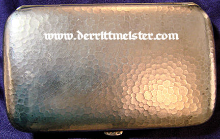 PRUSSIA - CIGARETTE CASE - PRINZ ADALBERT von PREUßEN - Imperial German Military Antiques Sale