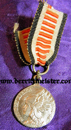 SOUTHWEST AFRICA COLONIAL -MINIATURE - NON COMBATANTS MEDAL - Imperial German Military Antiques Sale
