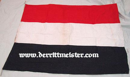 GERMANY - FLAG - GERMAN NATIONAL - Imperial German Military Antiques Sale