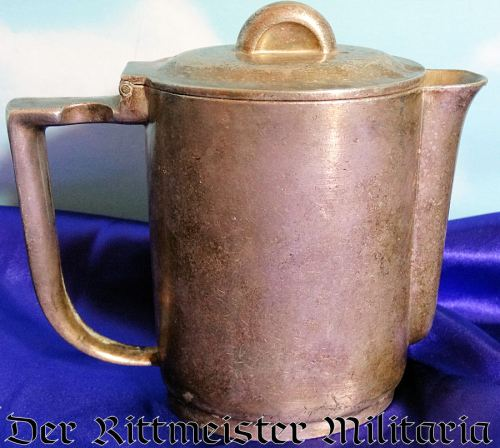 TEAPOT USED BY EMPLOYEES AT FRIEDRICHSHAFEN AND FRANKFURTZEPPELIN PLANTS - Imperial German Military Antiques Sale
