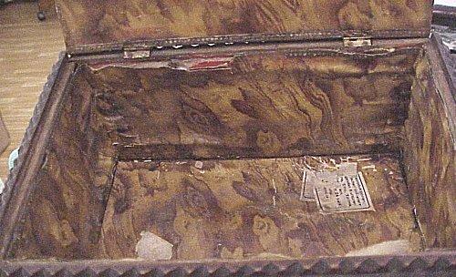 GERMANY - PATRIOTIC BOX - ZEPPELIN - WOOD - Imperial German Military Antiques Sale