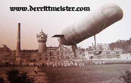 THREE-PHOTOGRAPH SET - EARLY ZEPPELIN - Imperial German Military Antiques Sale