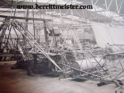 GERMANY - PHOTOGRAPH - ZEPPELIN HANGER - LARGE FORMAT - Imperial German Military Antiques Sale