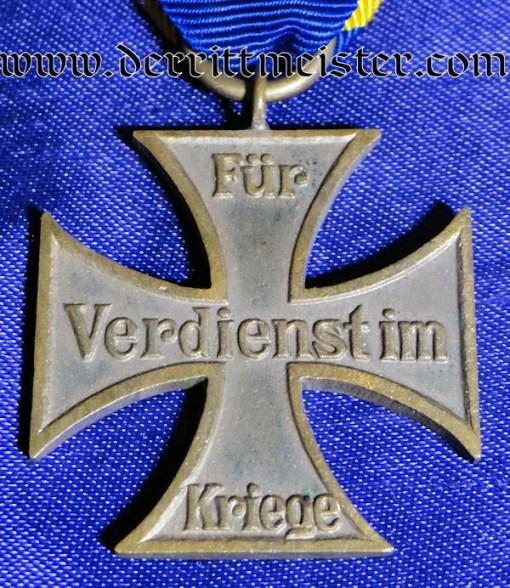 WAR SERVICE CROSS 2nd CLASS - BRAUNSCHWEIG - Imperial German Military Antiques Sale