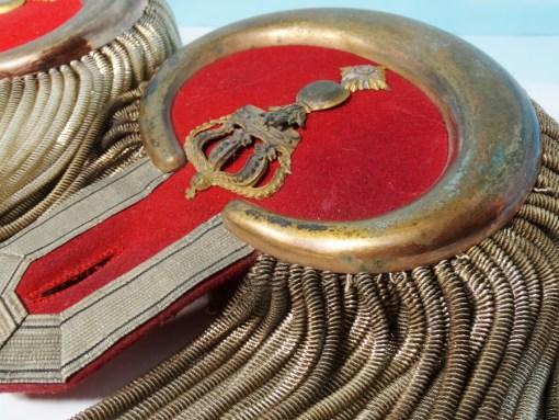 BADEN - EPAULETTES - OBERSTLEUTNANT - FELDARTILLERIE-REGIMENT - Imperial German Military Antiques Sale