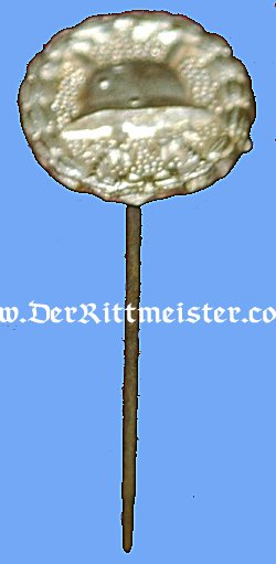 GERMANY - STICKPIN - ARMY WOULD BADGE - SILVER - Imperial German Military Antiques Sale