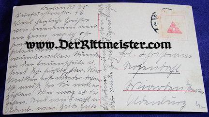 POSTCARD - KRONPRINZ FAMILY - Imperial German Military Antiques Sale