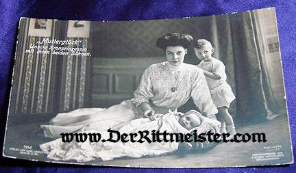 POSTCARD - KRONPRINZESSIN CECILIE - CHILDREN - Imperial German Military Antiques Sale