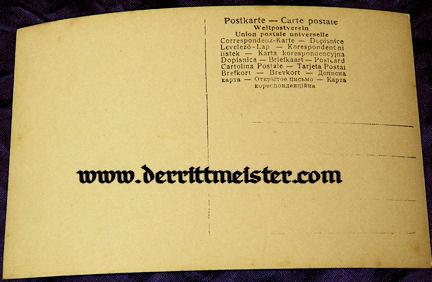 POSTCARD - KRONPRINZ WILHELM - ELDEST SON PRINZ WILHELM - Imperial German Military Antiques Sale