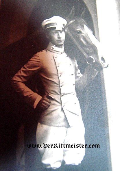 POSTCARD - KRONPRINZ WILHELM - KÜRAßIER-REGIMENT Nr 2 UNIFORM- PRUSSIA - Imperial German Military Antiques Sale