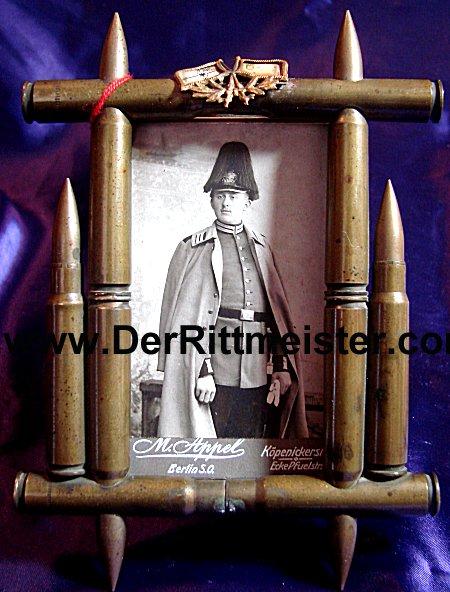 FRAMED CdV - GARDE-REGIMENT - PRUSSIA - Imperial German Military Antiques Sale