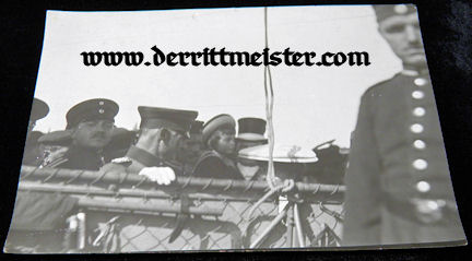 LARGE-FORMAT ORIGINAL PHOTOGRAPH - KRONPRINZ RUPPRECHT - OBSERVATION BALLOON - Imperial German Military Antiques Sale