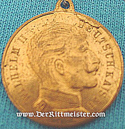 GERMANY - MEDAL - VETERAN'S ASSOCIATION - KAISER WILHELM II - Imperial German Military Antiques Sale