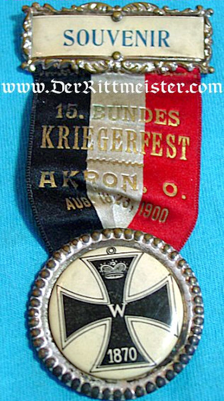 GERMANY - PIN - FRANCO-PRUSSIAN WAR - Imperial German Military Antiques Sale