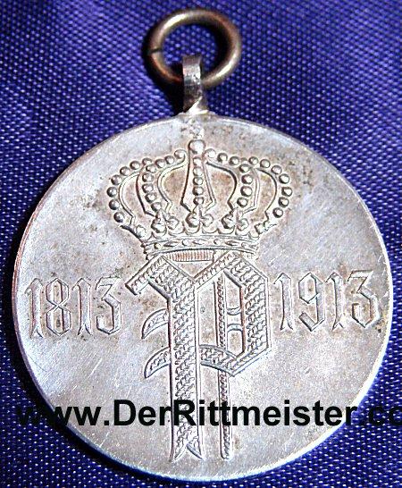 OLDENBURG - VETERAN'S MEDAL - 100TH ANNIVERSARY - INFANTERIE-REGIMENT Nr 91 - Imperial German Military Antiques Sale