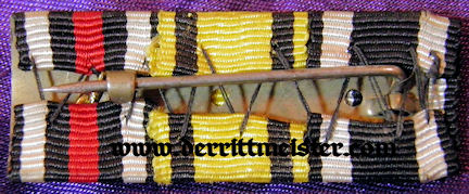WÜRTTEMBERG - RIBBON BAR - THREE PLACE - Imperial German Military Antiques Sale