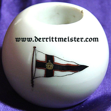 CANDLE HOLDER - KAISERLICHER YACHT CLUB - Imperial German Military Antiques Sale