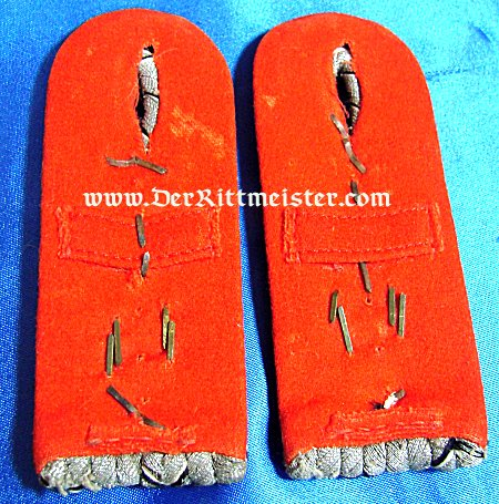 BADEN - SHOULDER BOARDS - HAUPTMANN - FELDARTILLERIE REGIMENT Nr 14 - Imperial German Military Antiques Sale