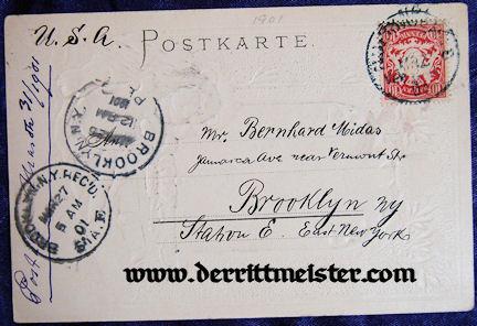 COLOR POSTCARD - PRINZ REGENT LUITPOLD - BAVARIA - Imperial German Military Antiques Sale