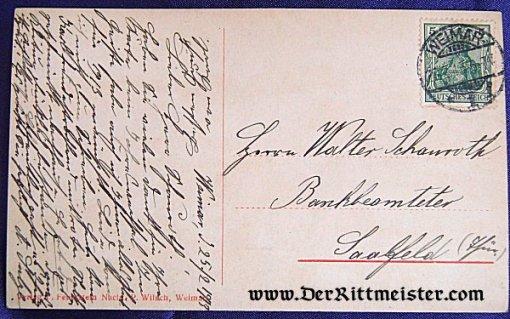 POSTCARD - GRAND DUCHESS FEODORA - ERZHERZOG WILHELM ERNST - PRINZESSIN SOPHIE - SAXE-WEIMAR - Imperial German Military Antiques Sale