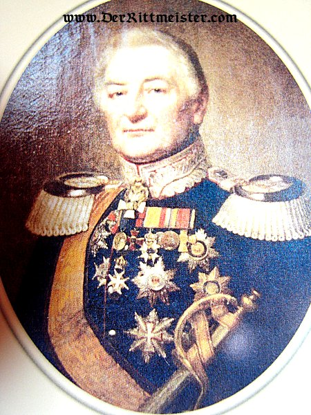 MODERN-DAY POSTCARD - GENERALMAJOR CARL WILHELM LUDWIG HARTWIG von BOTH - MECKLENBURG-SCHWERIN - Imperial German Military Antiques Sale