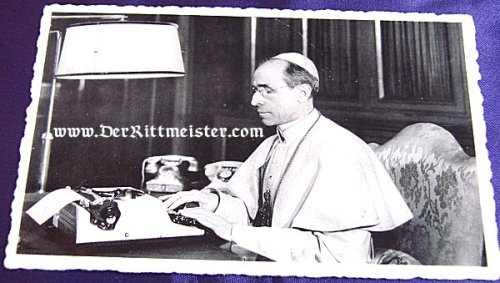 POSTCARD - POPE PIUS XII - Imperial German Military Antiques Sale